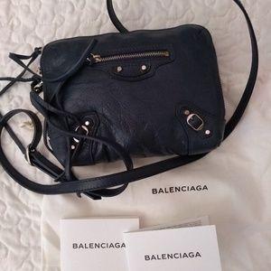 Balenciaga reporter crossbody bag